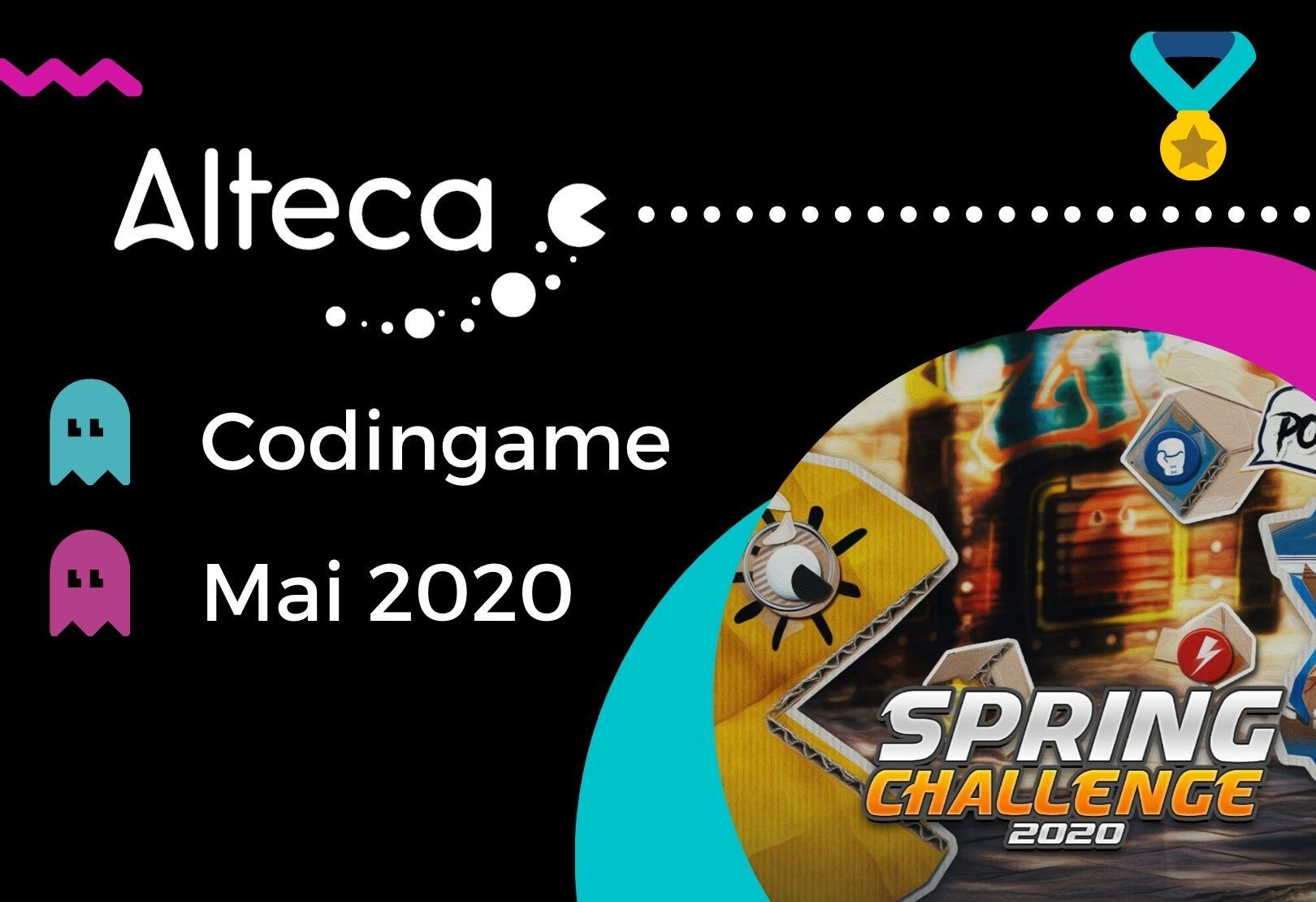 Codingame Challenge 2020  – les codeurs Alteca témoignent !