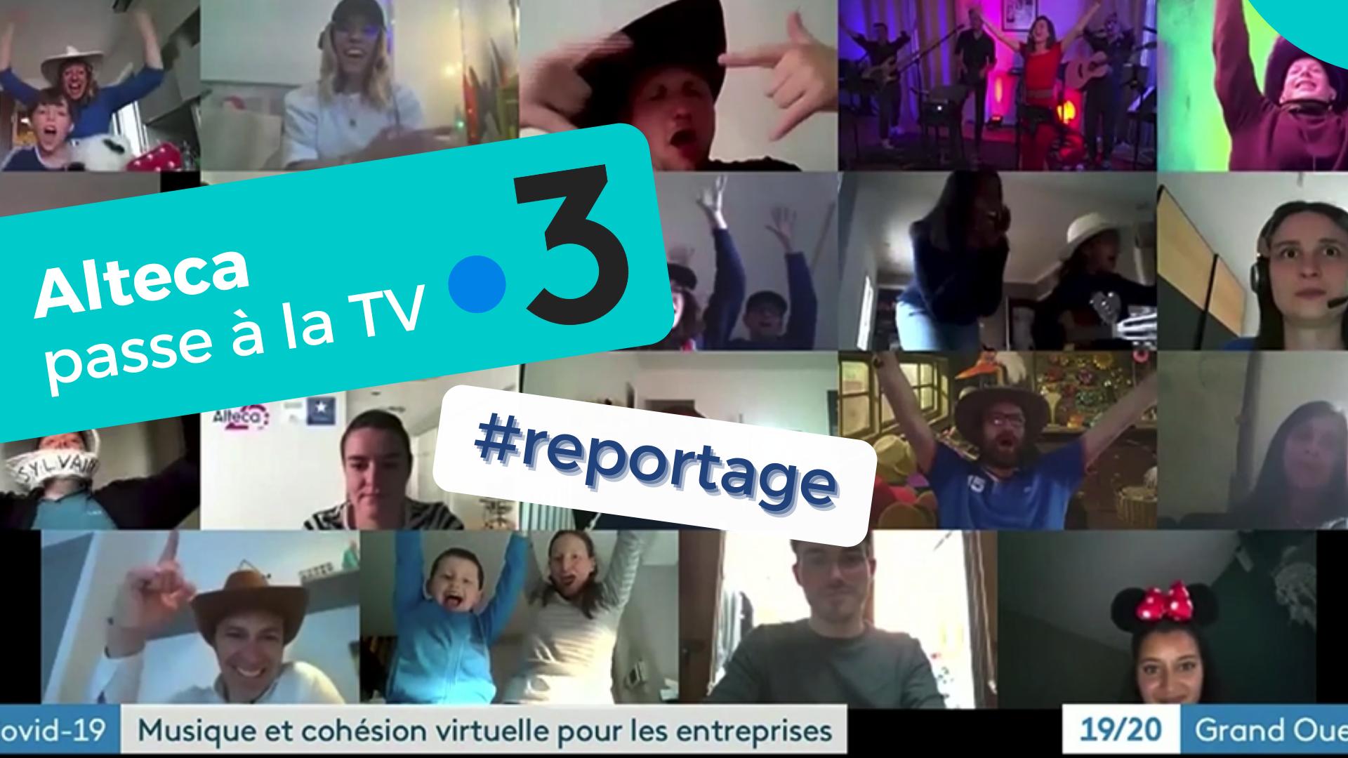 REPORTAGE 📺 : On parle de nous sur France 3 !
