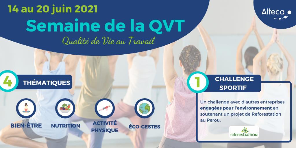 Semaine de la QVT : bien-être et engagement RSE pour les équipes Alteca