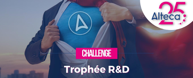 Trophée R&D des 25 ans Alteca : le bilan